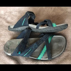 MERRELL Suede - Strappy - Sandals - Shoes